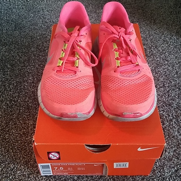 Nike women's free run+3
